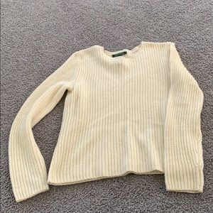 Cream Lauren sweater
